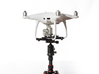 Tripod Mount Adapter for DJI Phantom 4 Drones 3d printed Phantom 4 Attached to a camera tripod ball head with the VASTmicro mount.