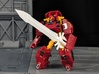 TF Weapon Ultima Sword For Legends Class 3d printed Scaled for Legends Class figures
