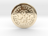 Virgo Coin of 7 Virtues 3d printed