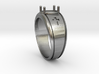 Cross Gents Ring 3d printed