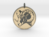Big Horn Sheep  Animal Totem Pendant 3d printed