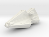 3788 Scale Tholian Pocket Battleship with Gunboats 3d printed
