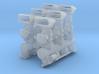 6x2 Intake (fits Revell Hemi) w/CalCustom scoops 3d printed
