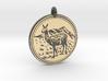 Llama Animal Totem Pendant 3d printed