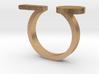 Minimal Line and Circle Ring 3d printed