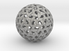 Geodesic Weave 3d printed