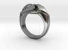 North Star Cross Ring - Size 8 (18.14 mm) 3d printed