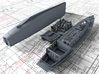 1/200 Royal Navy 50ft Steam Pinnace x1 3d printed 3D render showing kit parts