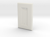 Philips HUE Dimmer 1 Gang Switch Plate 3d printed