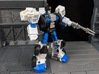 TF CW Streetwise Wide Car Cannon Adapter 3d printed Mounted on Rook's shoulder