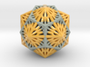 Icosahedron Dodecahedron Compound 3d printed