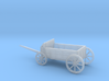 N Scale Buckboard 3d printed This is a render not a picture
