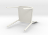 Stackable chair 3d printed