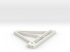 Front Triangle for Trailer Chassis 1/10 scale 3d printed