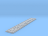 Nameplate B-17F Flying Fortress 3d printed