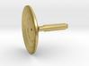 1/350 TOS Deflector Dish Metal Replacement 3d printed