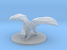 Young White Dragon 3d printed