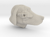 Dog Multi-Faced Caricature (002) 3d printed