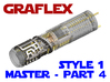Graflex Master - Part4 Style1 - Shell2 3d printed