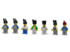 7 x Napoleonic Helmets 3d printed Napoleonic Soldiers (Render: Example usage, Decals by Mosana and Woody64)