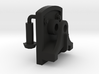 Signal Semaphore Lever Bracket w/ Bolts 1:19 scale 3d printed