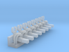 Minitrix 2-10-0 & 4-6-2 Eccentric Rod Pegs N Scale 3d printed