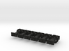 N Scale 8mm Fixed Coupling Drabar x6 3d printed
