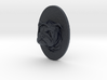 Bulldog Face + Half-Voronoi Mask (001) 3d printed