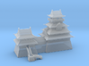Japanese castle in high detail 3d printed