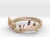 Elk Antler Ring 1 3d printed