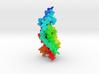 PTH receptor-1 a family B GPCR 3d printed