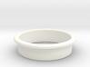 Pinball Start Button Dress Ring - Small Lip 3d printed