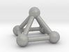 0721 J01 Square Pyramid V&E (a=1cm) #3 3d printed