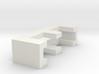 CHOKER SLIDE LETTER E 1⅛, 1¼, 1½, 1¾, 2 inch sizes 3d printed