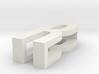 CHOKER SLIDE LETTER R 1⅛, 1¼, 1½, 1¾, 2 inch sizes 3d printed