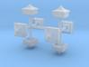 Signal Finial (Square Cap) 1:48 scale 3d printed