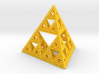 Diamond Sierpinski Tetrahedron 3d printed