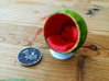 Bubble Chair: Watermelon (1:24 Scale) 3d printed