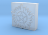 3D Anti-Possession Leather Embossing Stamp 3d printed