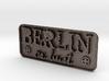 Berlin-or-bust-Plate 3d printed