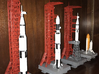 1/400 Saturn V MLP & Crawler, Apollo launch pad 3d printed My various launch pads, made by a customer who admits he has limited modelling skills. I think he's made a good job of them.