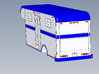 HO 1/87 Horsebox 1978 Imperatore 6 (simplified) 3d printed Showing the light/reflector detail.
