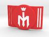 Freestyle Libre Shield - Libre Guard FOOTBALL - M 3d printed