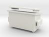 A 026  2 Yard Bin Box 3d printed