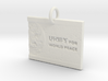Unify For World Peace 3d printed