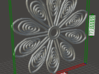 77mm TOS insignia flower 3d printed