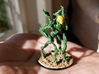 Starfinder Khizar Miniature 3d printed The painted test print my original client painted.