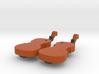 Violin/Cello Earrings 3d printed