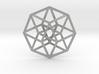 "4D Hypercube (Tesseract) 2.5"" 3d printed"