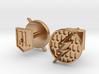 Flash cufflinks 3d printed